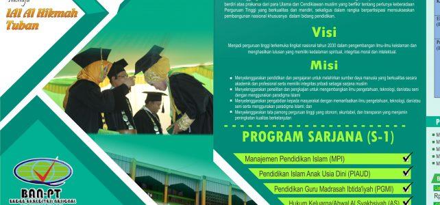 Buruan Daftar …! PENERIMAAN MAHASISWA BARU Tahun Akademik 2018/2019