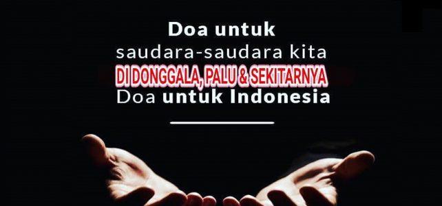 Do'a untuk Donggala, Palu dan Sekitarnya
