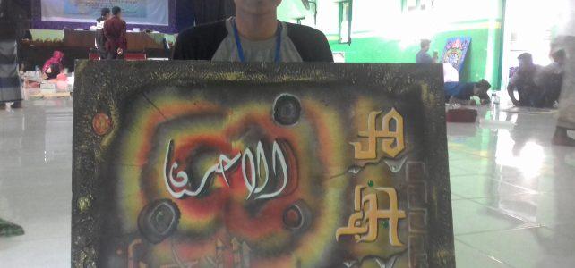 Mahasiwa Ekonomi Syari'ah di MTQ LPTQ Tingkat Kabupaten Tuban