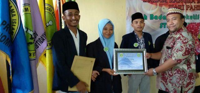 Perwakilan Prodi Ekonomi Syariah Mendapatkan Juara I Debat Mahasiswa STAI Al Hikmah Tuban
