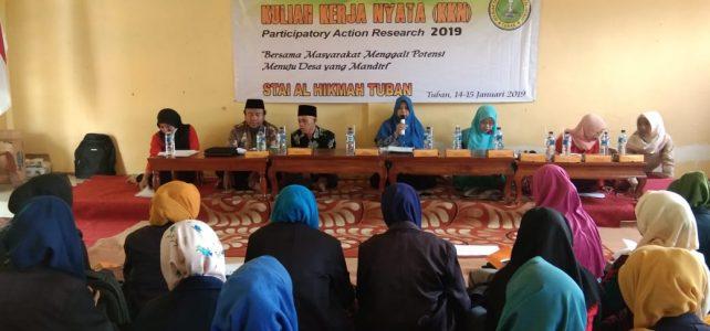Pembekalan Kuliah Kerja Nyata (KKN) Tahun Akademik 2018/2019