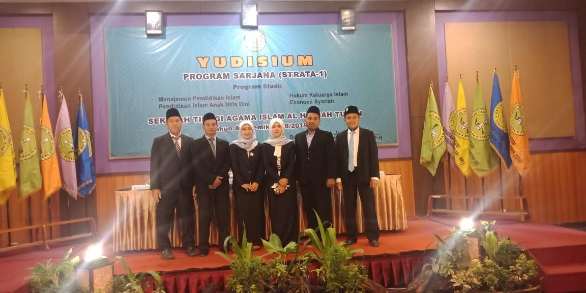 Yudisium Prodi Ekonomi Syariah Tahun 2019