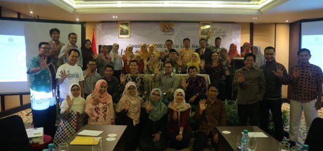 Keikutsertaan Dosen Prodi Ekonomi Syariah dalam Talent Scouting Program yang Diadakan PMU Direktorat Pendidikan Tinggi Islam