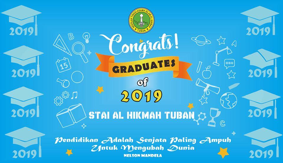 Congrats, Graduates of 2019