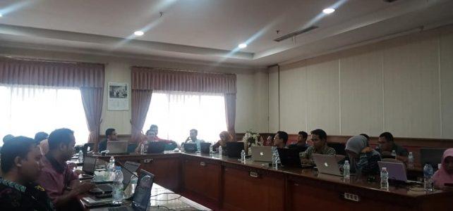 Perwakilan Prodi Ekonomi Syariah dalam Coaching Akreditasi Jurnal PTKIS Dan PTKIN oleh Kemenag RI