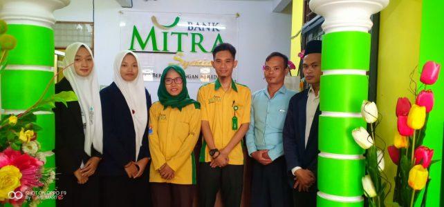 Pembukaan Praktik Pengalaman Lapangan (PPL) di Bank Mitra Syariah Bojonegoro Tahun Akademik 2020/2021