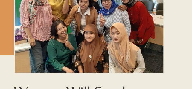 Keaktifan Mahasiswa Ekonomi Syariah dalam Woman Will Surabaya